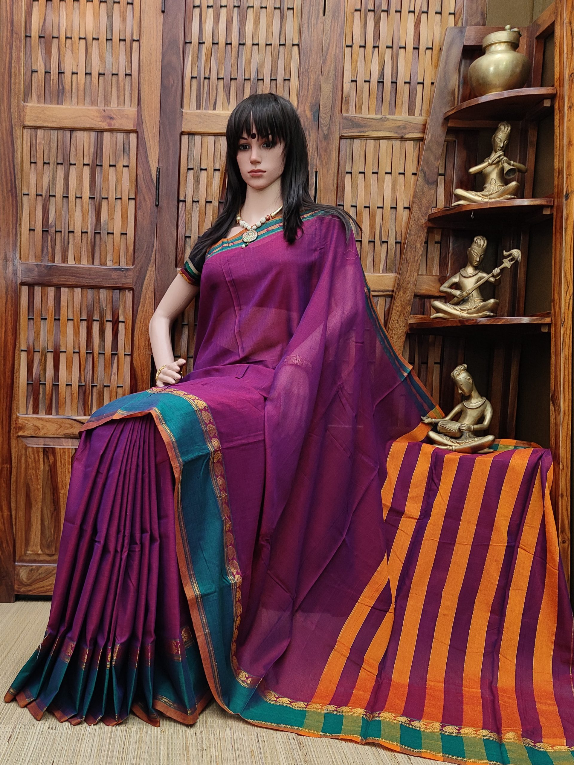 Darshitha - Pearl Cotton Saree
