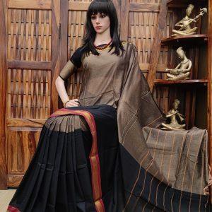 Deepaprabha - Pearl Cotton Saree