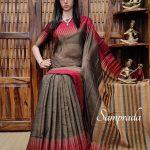 Triguna - Pearl Cotton Saree