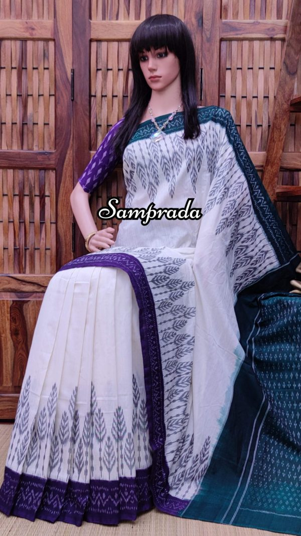 Poornima - Ikkat Cotton Saree