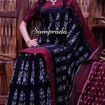 Praatika - Ikkat Cotton Saree