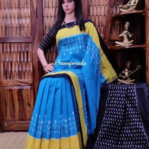 Prapthi - Ikkat Cotton Saree