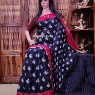 Prapya - Ikkat Cotton Saree