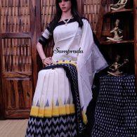 Prarthana - Ikkat Cotton Saree