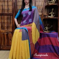 Pratha - Ikkat Cotton Saree