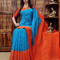 Priyatha - Ikkat Cotton Saree