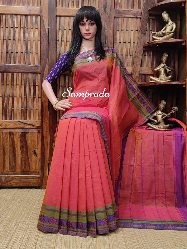 Saranya - South Cotton Saree