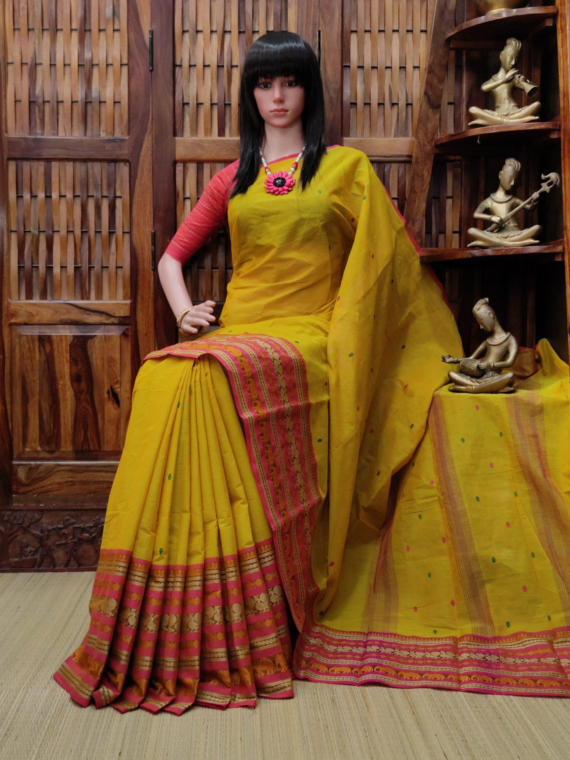 Sarunati - South Cotton Saree