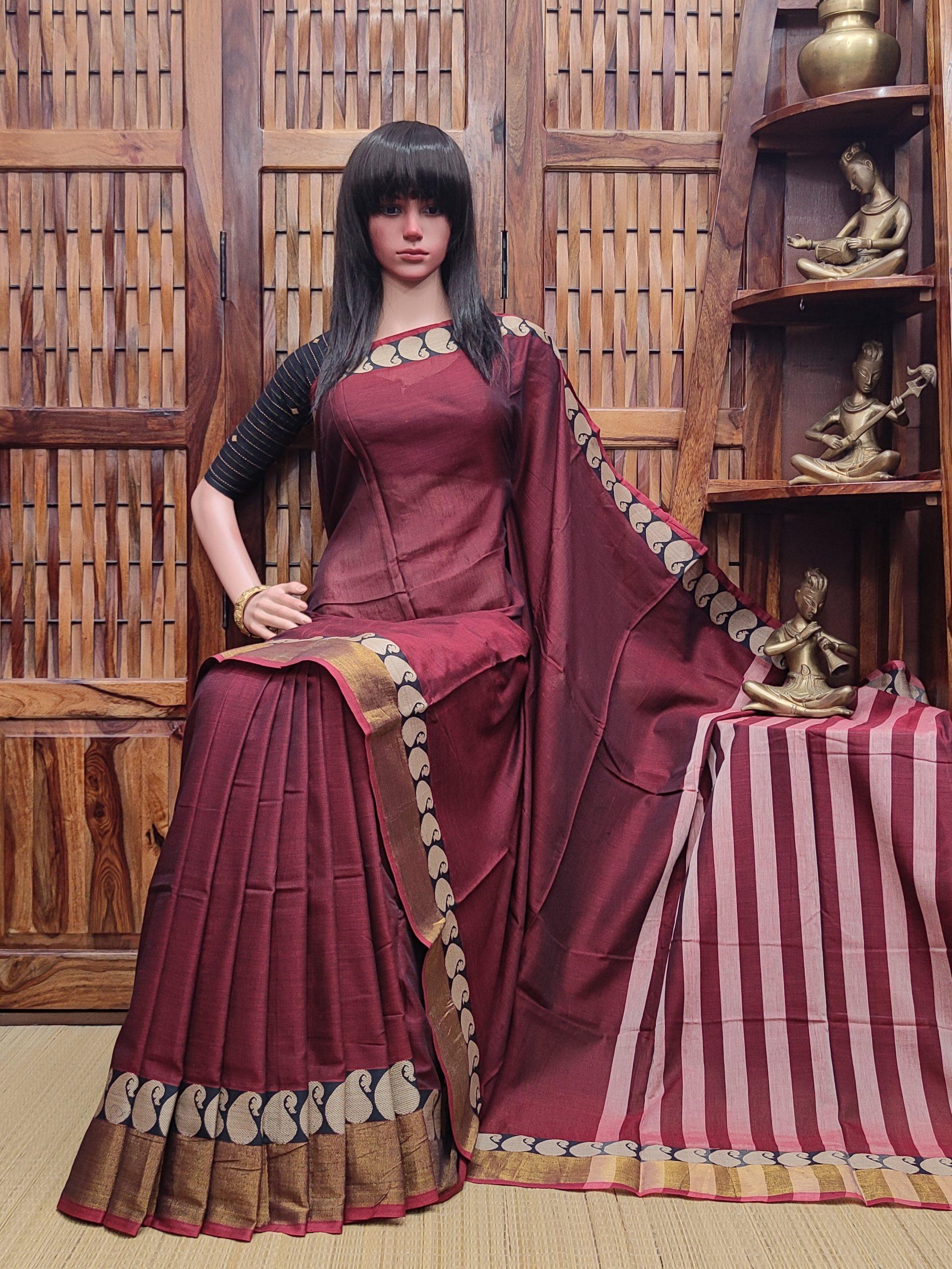 Lakshetha - Pearl Cotton Saree