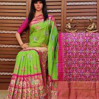 Athishaya - Ikkat Silk Saree