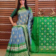 Roopavathi - Ikkat Silk Saree