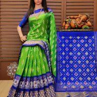 Roopeshwari - Ikkat Silk Saree