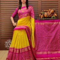 Savitri - Ikkat Silk Saree