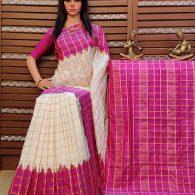 Snusha - Ikkat Silk Saree