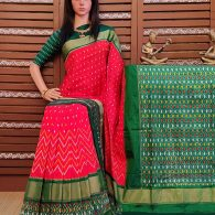 Sooktha - Ikkat Silk Saree