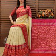 Soumya - Ikkat Silk Saree