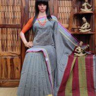 Bhairavi - Patteda Cotton Saree