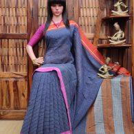 Bhavita - Patteda Cotton Saree