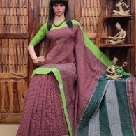 Bindiya - Patteda Cotton Saree