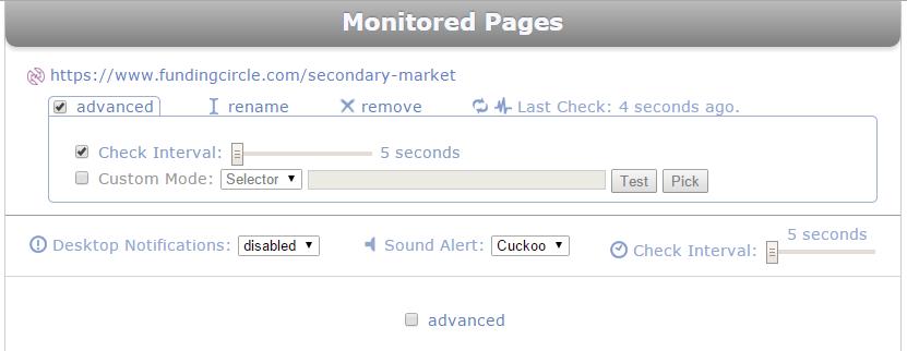 page monitor funding circle