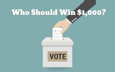 Entrepreneurship Grant Spring Finalists Announced, VOTE NOW!