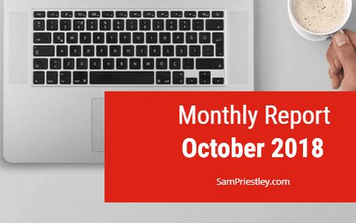My Monthly Report – October 2018