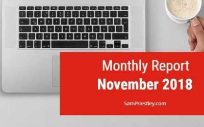 My Monthly Report – November 2018