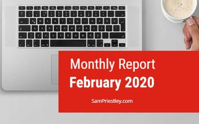 My Monthly Report – February 2020