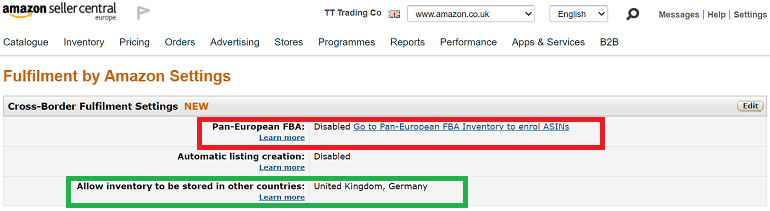 an image on how to set up vat for amazon fba sellers