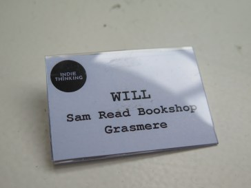 Important name badge