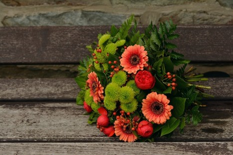 Brautstrauß Herbst