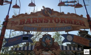 The Barnstormer featuring the Great Goofini