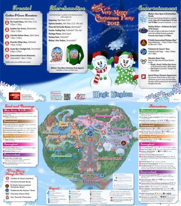 First Things First!! Get an event map as early as possible.