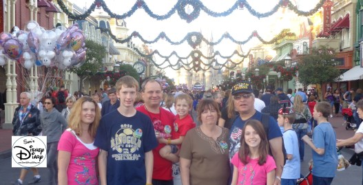 Getting Ready for Mickey's Very Merry Christmas Party 2012