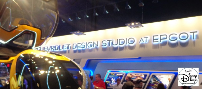 The Chevrolet Design Studio at Epcot and Chevrolet EN-V Concept Car