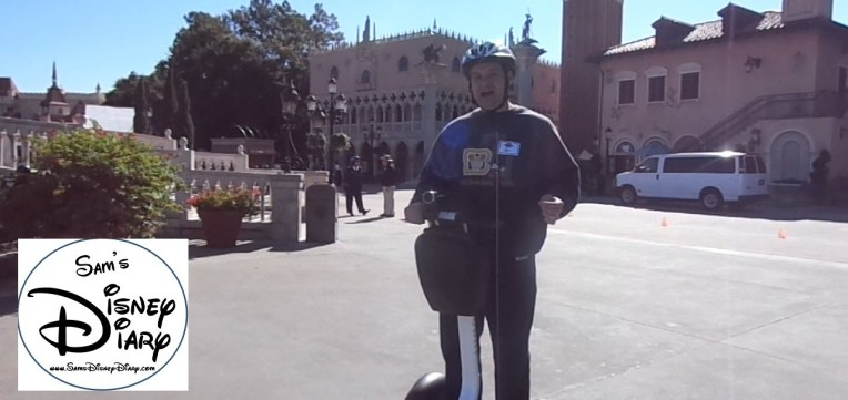 Epcot Segway Tour - Open Cource Italy