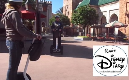 Epcot Segway Tour in Morocco- November 2012