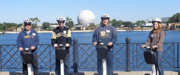 The Epcot Segway Tour, a SamsDisneyDiary Family Affair