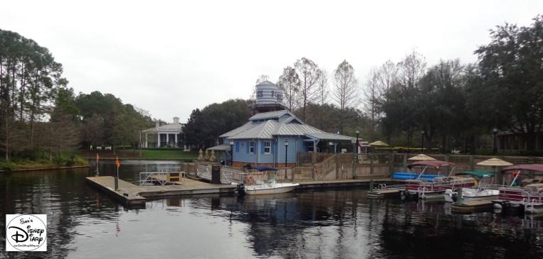 Port Orleans Riverside Marina