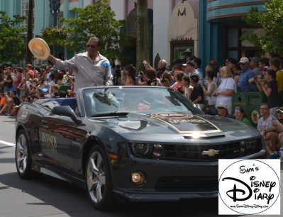 """""""Legends of the Force"""" Motorcade and Celebrity Welcome. Billie Dee Williams"""