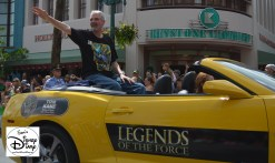 """Legends of the Force"" Motorcade and Celebrity Welcome. Tom Kane The Voice Behind Yoda from the Clone Wars"