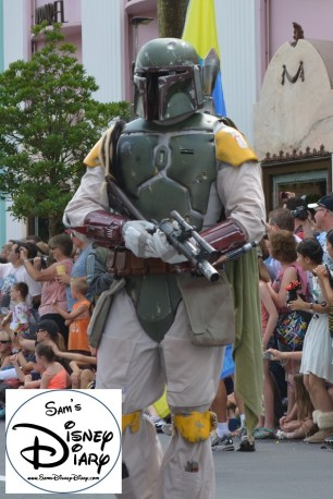 """Legends of the Force"" Motorcade and Celebrity Welcome, Bobba Fett"