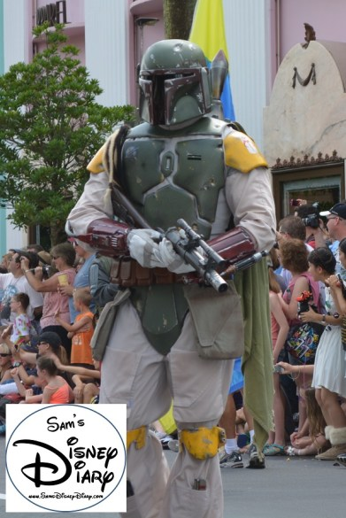 """""""Legends of the Force"""" Motorcade and Celebrity Welcome, Bobba Fett"""