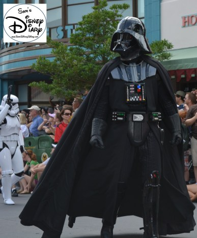 """""""Legends of the Force"""" Motorcade and Celebrity Welcome, Vader!!!"""