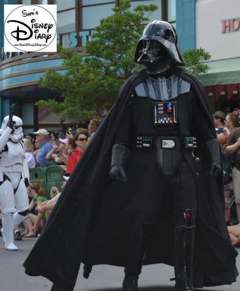 """Legends of the Force"" Motorcade and Celebrity Welcome, Vader!!!"