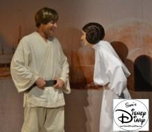 Luke Skywalker and Princess Lea meet and greet inside Darth's Mall, 2013
