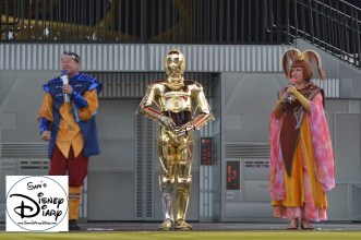 C3PO Takes questions during the Padawan Mind Challenge (Star Wars Weekend 2013)