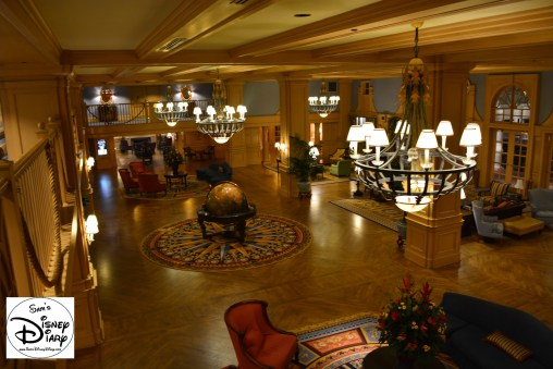 The lobby transports you to the turn of the century summer seaside of late 1800s New England.