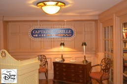 Captains Grill: Another find dinning option. Available for Breakfast, Lunch and Dinner.
