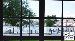 A view from our standard room. Nice and quiet, facing crescent lake and Bay Side Marina